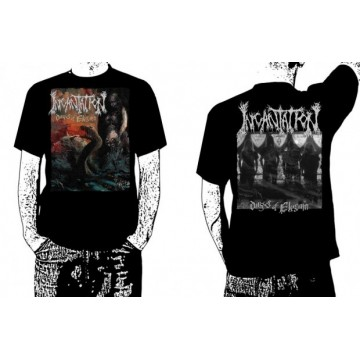 INCANTATION DIRGES OF ELYSIUM OFFICIAL T-SHIRT BAND