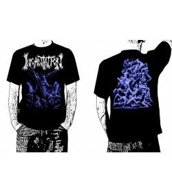 INCANTATION OFFICIAL Upon the Throne of Apocalypse T-SHIRT