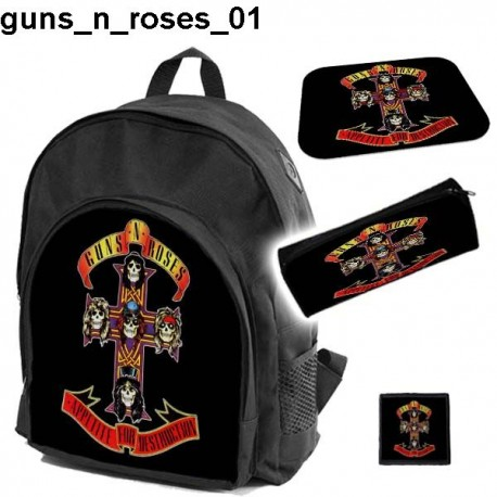 GUNS N ROSES Set school backpack - 43.2KB