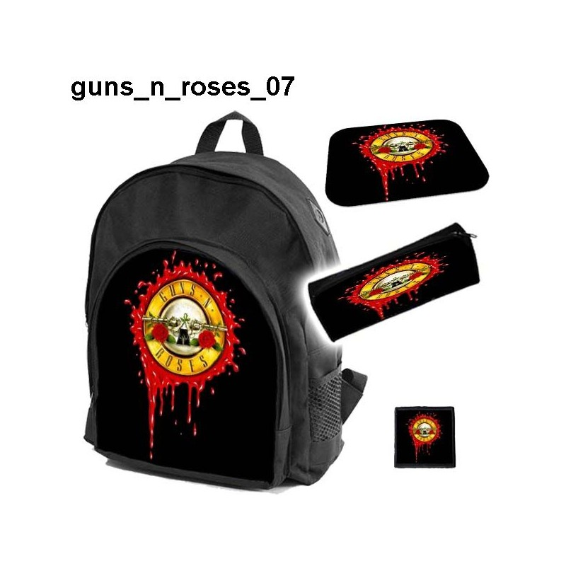 GUNS N ROSES Set school backpack - 67.5KB
