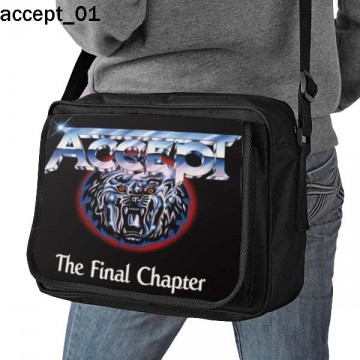 ACCEPT SHOULDER BAG