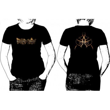 ROTTING CHRIST THEOGONIA OFFICIAL T-SHIRT GIRLY WOMEN SALE