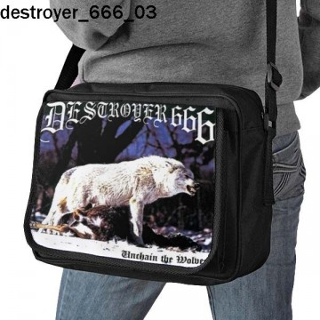DESTROYER666 SHOULDER BAG