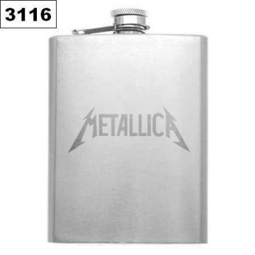 METALLICA HIP-FLASK FLACHMANN