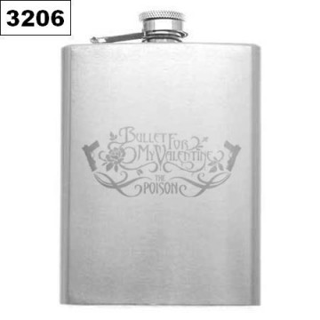 Bullet For My Valentine HIP-FLASK FLACHMANN