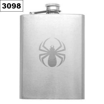 SPIDER HIP-FLASK FLACHMANN