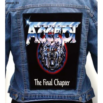 ACCCEPT BIG BACK PATCH