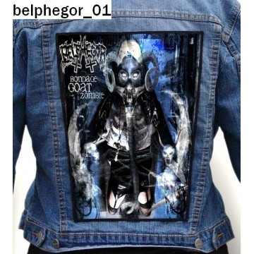BELPHEGOR BIG BACK PATCH