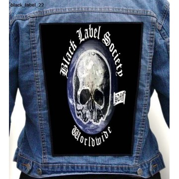 BLACK LABEL SOCIETY BIG BACK PATCH