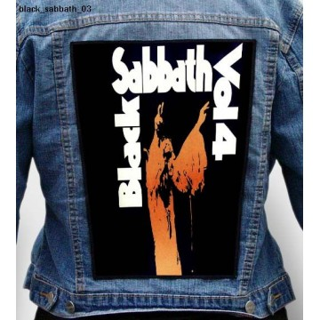 BLACK SABBATH BIG BACK PATCH