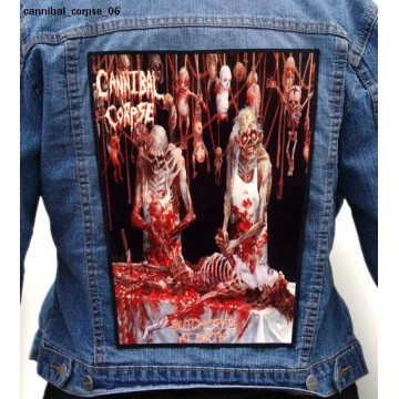 CANNIBAL CORPSE BACKPATCH DIFFERENT PATTERNS