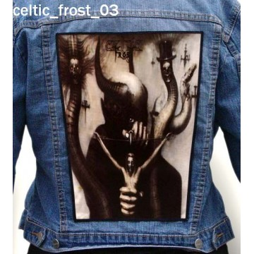 CELTIC FROST BIG BACK PATCH