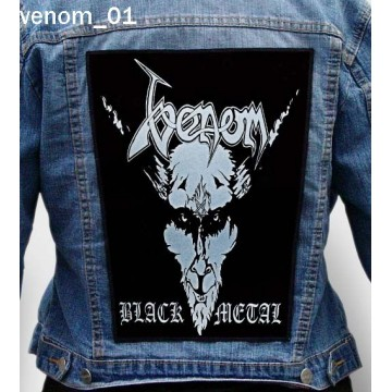 VENOM BIG BACK PATCH