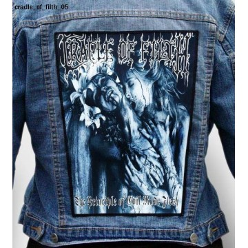 CRADLE OF FILTH BIG BACK PATCH