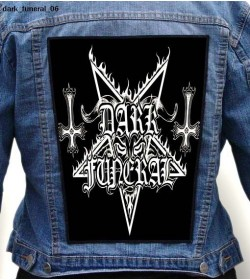 DARK FUNERAL BIG BACK PATCH