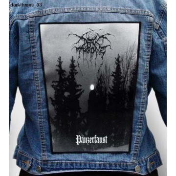 DARK THRONE BIG BACK PATCH