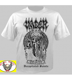 VADER - Decapitated Saints WHITE T-SHIRT