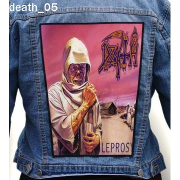 DEATH BIG BACK PATCH