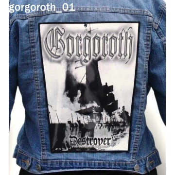 GORGOROTH BIG BACK PATCH