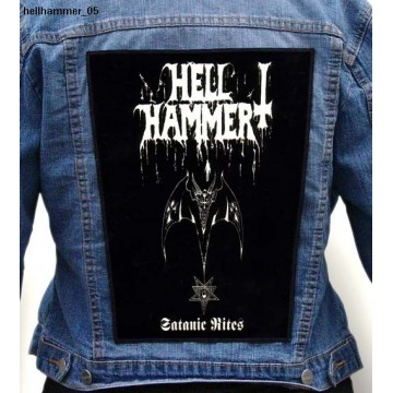 HELLHAMMER BIG BACK PATCH
