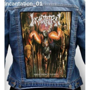 INCANTATION BIG BACK PATCH