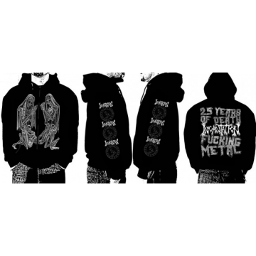 INCANTATION - DELIVERANCE OFFICIAL HOODIE ZIPPER