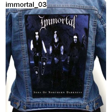 IMMORTAL BIG BACK PATCH