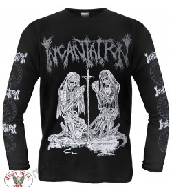 INCANTATION - DELIVERANCE OFFICIAL LONGSLEEVE 25 YEARS DEATH FUCKING METAL
