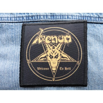 VENOM WELCOME TO HELL PATCH SALE