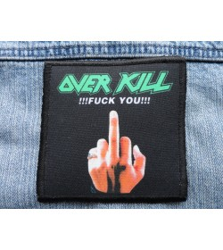 OVER KILL FUCK YOU ! PATCH SALE