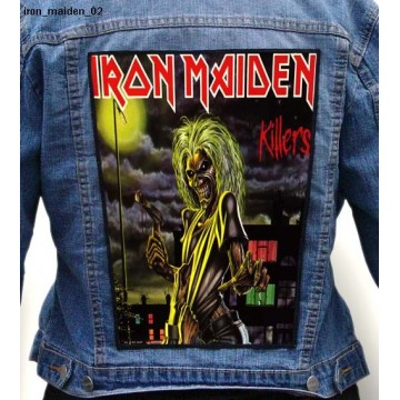 IRON MAIDEN BIG BACK PATCH