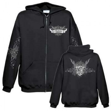 NIGHTWISH VICTORIAN ORIGINAL OFFICIAL ZIPPER HOODIE
