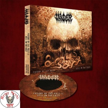 "VADER - NEW ALBUM -""Future of The Past II-Hell in The East"" DIGI PACK"