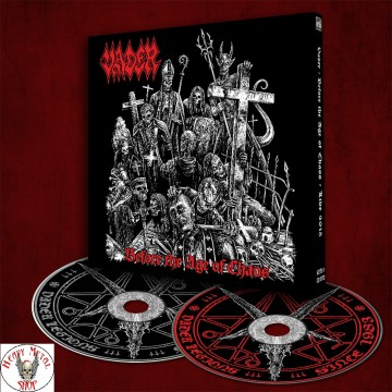 "VADER -""Before The Age Of Chaos - Live 2015"" DIGI PACK CD/DVD Limited Edition"