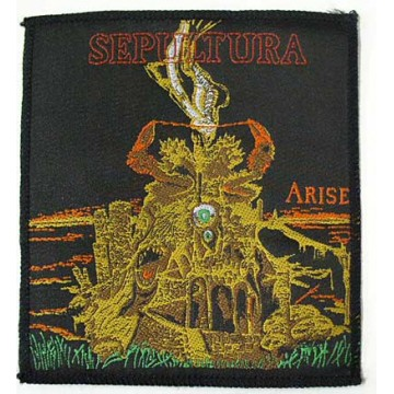 SEPULTURA OFFICIAL PATCH EMBROIDERED ARISE