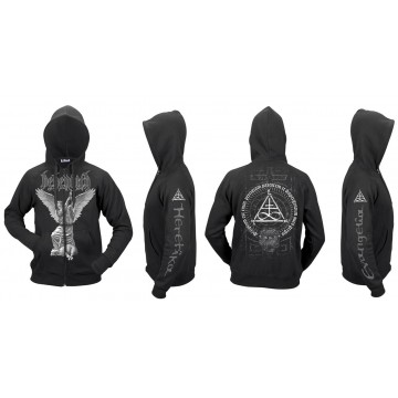 BEHEMOTH Evangelia Heretika ORIGINAL OFFICIAL ZIPPER HOODIE