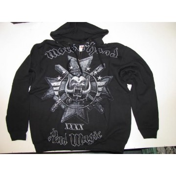 MOTORHEAD ,,BAD MAGIC,, XXXX 1975-2015 ZIPPER HOODIE