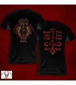"""CHRIST AGONY -""""Sacronocturn"""" OFFICIAL T-SHIRT"""