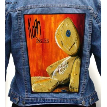 KORN BIG BACK PATCH