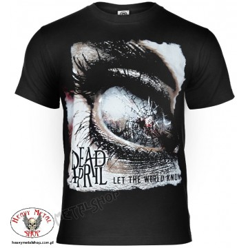 DEAD BY APRIL Official merchandise LET THE WORLD KNOW Official T-Shirt