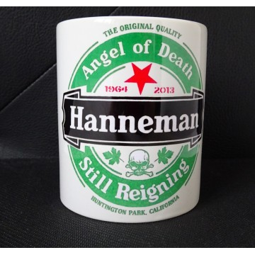 JEFF HANNEMAN TRIBUTE MUG ANGEL OF DEATH STILL REIGNING SLAYER