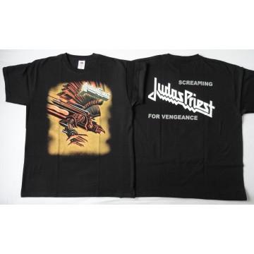Judas Priest Screaming For Vengeance OFFICIAL ORIGINAL T-SHIRT UNIQUE !