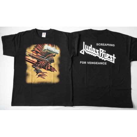 7fdc0b1c85f Judas Priest Screaming For Vengeance OFFICIAL ORIGINAL T-SHIRT UNIQUE ! -  heavymetalshop.com.pl