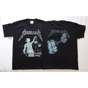 METALLICA ,,...And justice for all,, OFFICIAL T-SHIRT UNIQUE