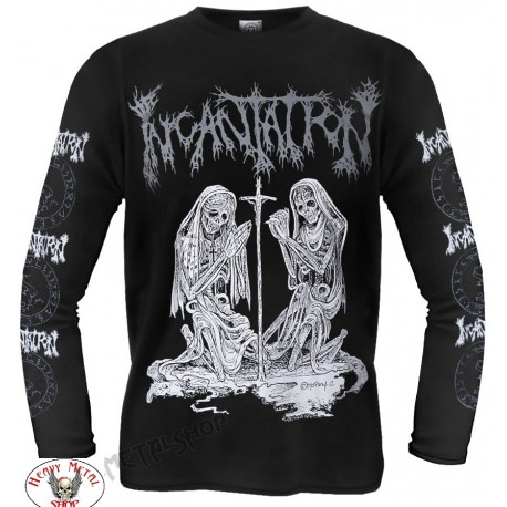 INCANTATION OFFICIAL LONGSLEEVE ,,DELIVERANCE,, TWENTY FIVE YEARS OF DEATH FUCKING METAL