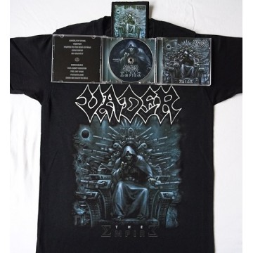 "VADER –""THE EMPIRE"" BUNDLE T-SHIRT + CD + PATCH"
