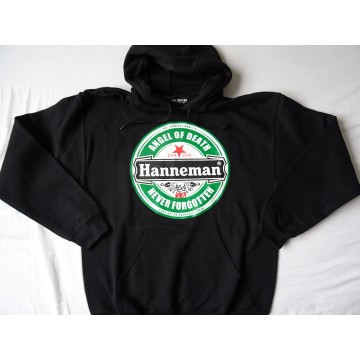 "HANNEMAN SLAYER -""Angel of Death"" BLACK HOODIE Gildan Men DryBlend™ Hooded Sweatshirt 325g/m2"