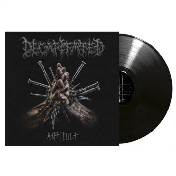 DECAPITATED ,,Anticult,, LP BLACK VINYL Gatefold Cover + Autographs