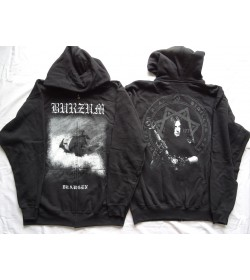 BURZUM ,,Draugen,, OFFICIAL ORIGINAL HOODIE ZIPPER