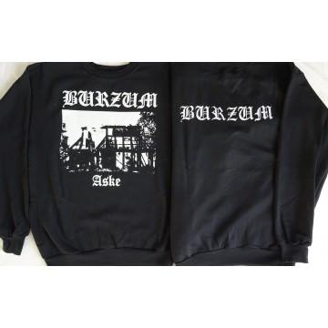 BURZUM ASKE Black Fucking Metal Sweatshirt Blouse Pullover Bluse